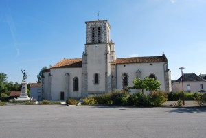Eglise Saint-Aubin le Cloud
